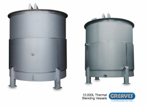 10000L Thermal Blending Vessels‏