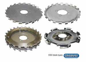 HSD blade types