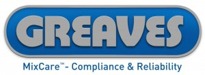 Greaves logo with MixCare Blue strapline